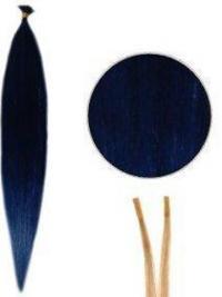 Designet Remy Hår Rett Svart Stick Extensions