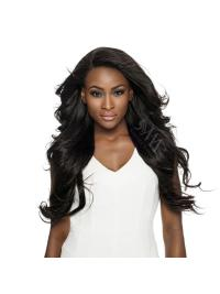 Bølgete Ideell Svart Remy Hår Lang Lace Frontals