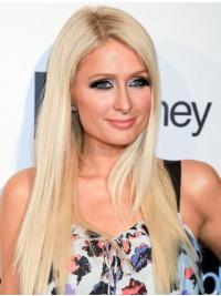"Lang Remy Hår Ny Blond 20"" Paris Hilton Parykk"