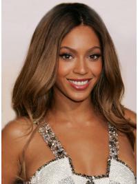 "Lace Front Uten Smell Bølgete 24"" Auburn Problemfri Beyonce Parykk"