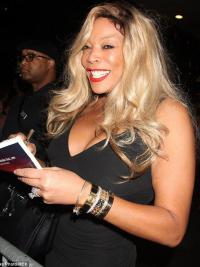 """Blond Lang Uten Smell 20"""" Lace Front Ideell Wendy Williams Parykk"""