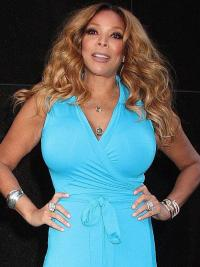 """Blond Lang Uten Smell 20"""" Lace Front Mote Wendy Williams Parykk"""