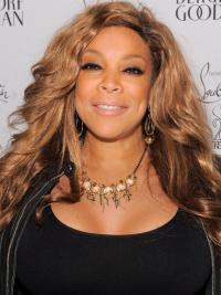 """Blond Billig Lang Lace Front 20"""" Wendy Williams Parykk"""